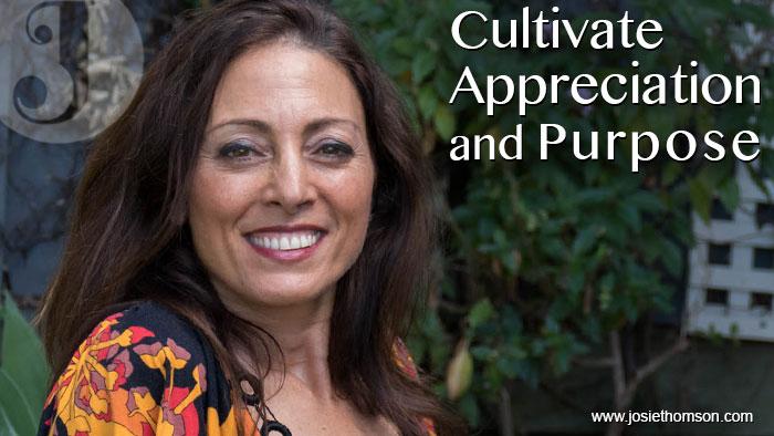 Cultivate Appreciation and Purpose