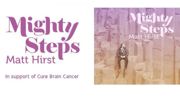 Matt Hirst's Mighty Steps to cure Brain Cancer