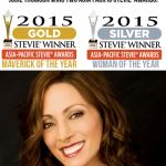 Josie Thomson wins two Stevie Awards